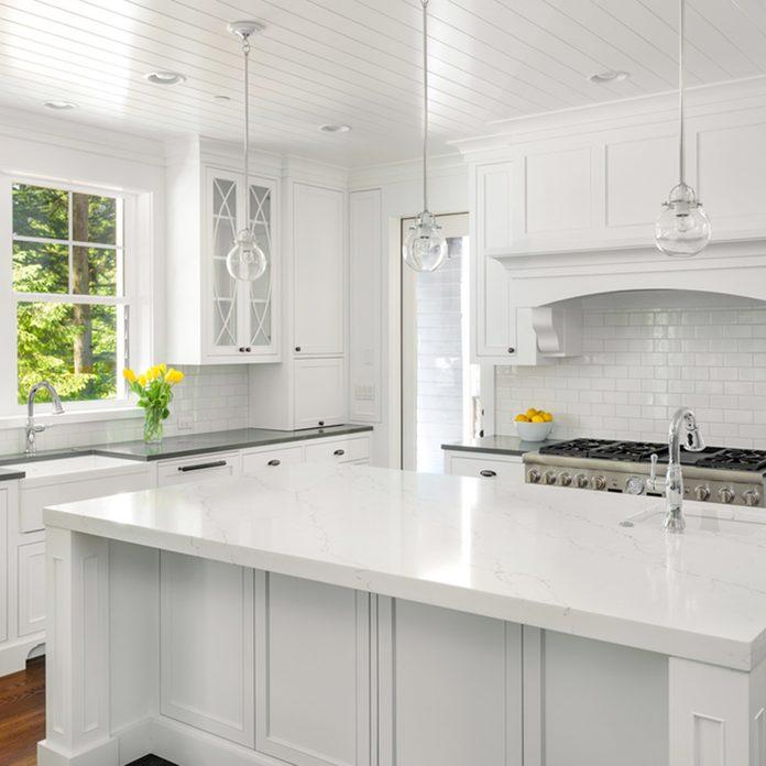 Kitchen Paint Schemes: White on White