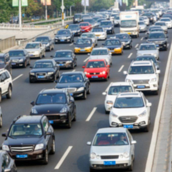 car traffic long commute