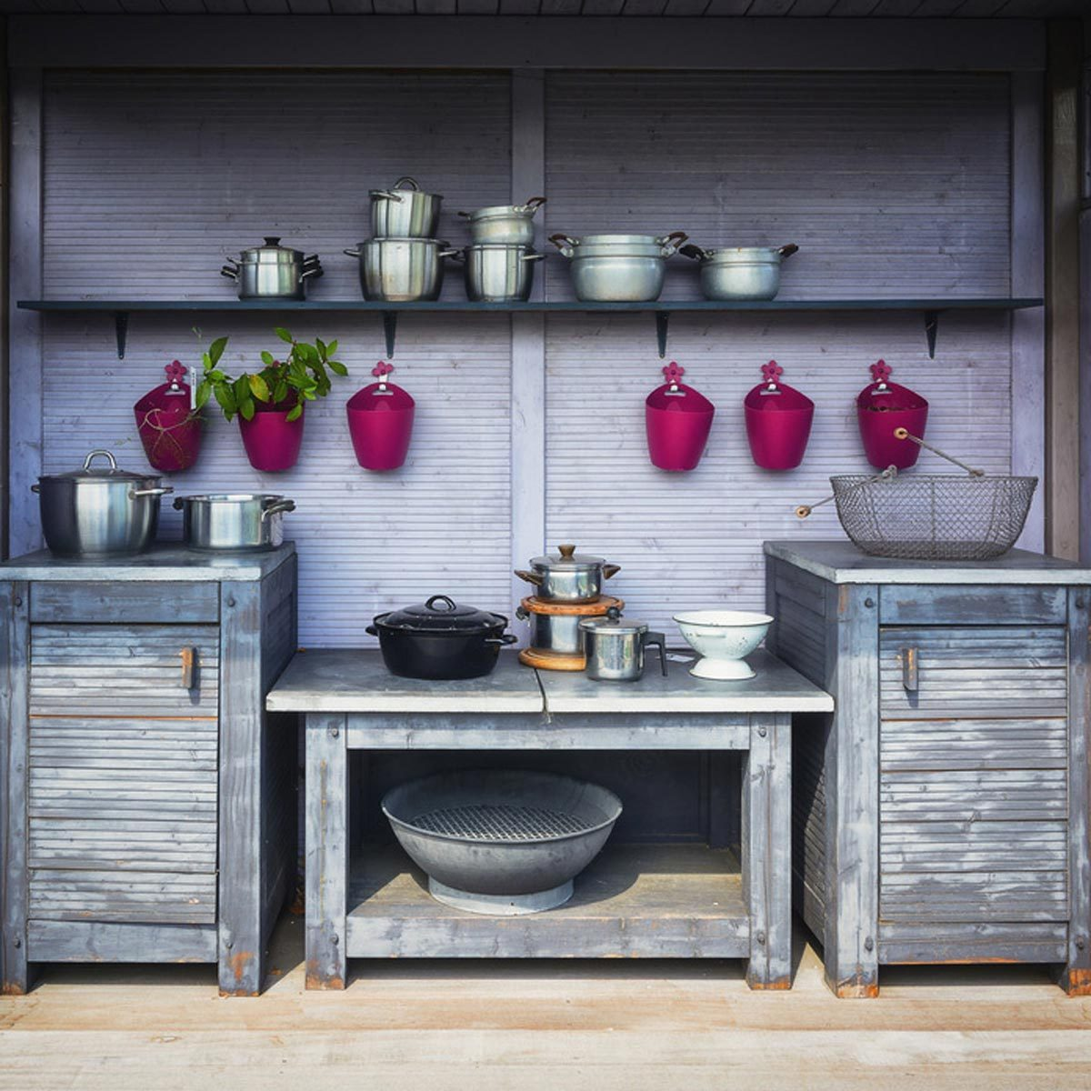 Cool Shed Ideas: The Cook's Nook