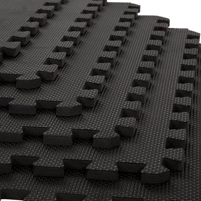 Foam or Rubber Tile Flooring