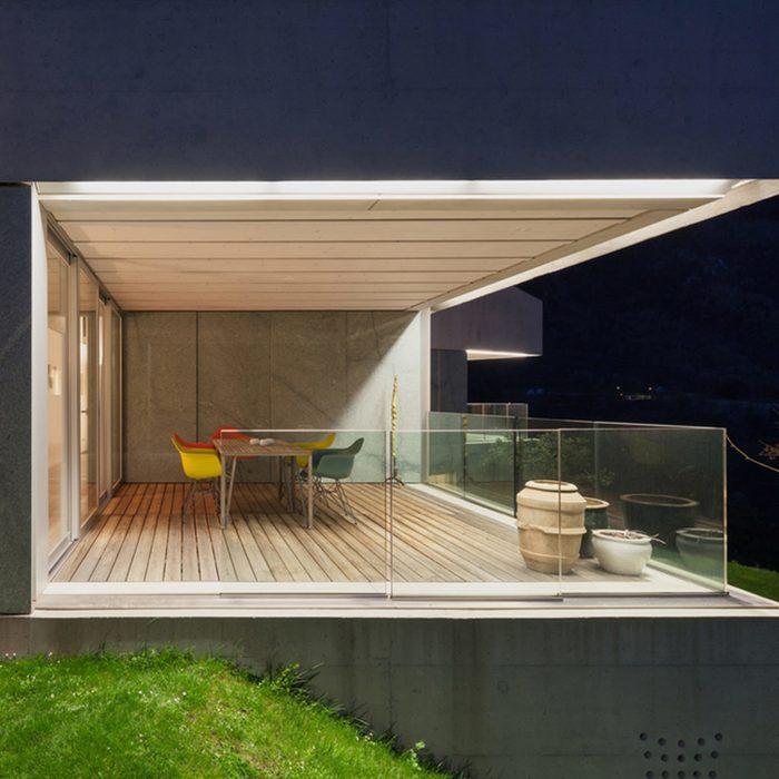 Built-In Deck