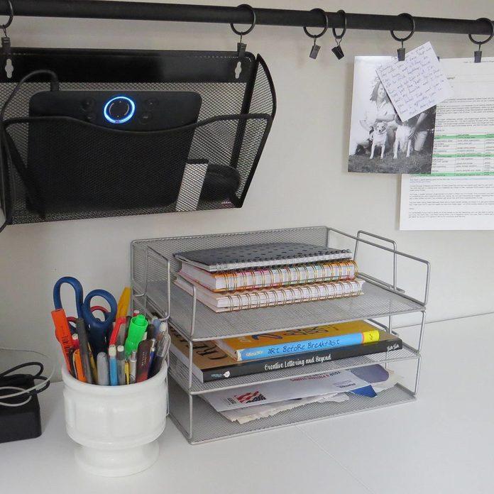Hang it Up storage desk
