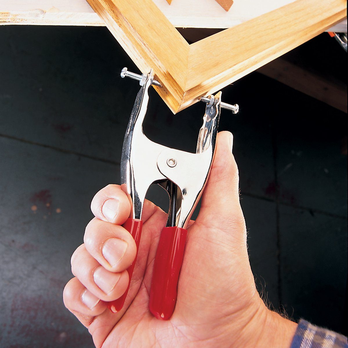 Hacked Miter Clamp