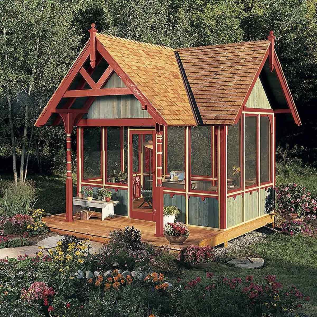livable backyard shed