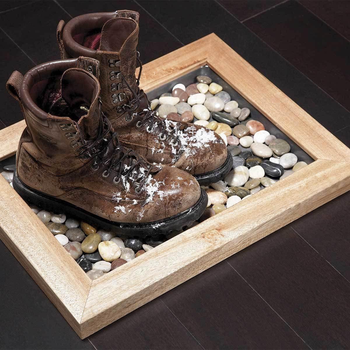 DIY Boot Tray