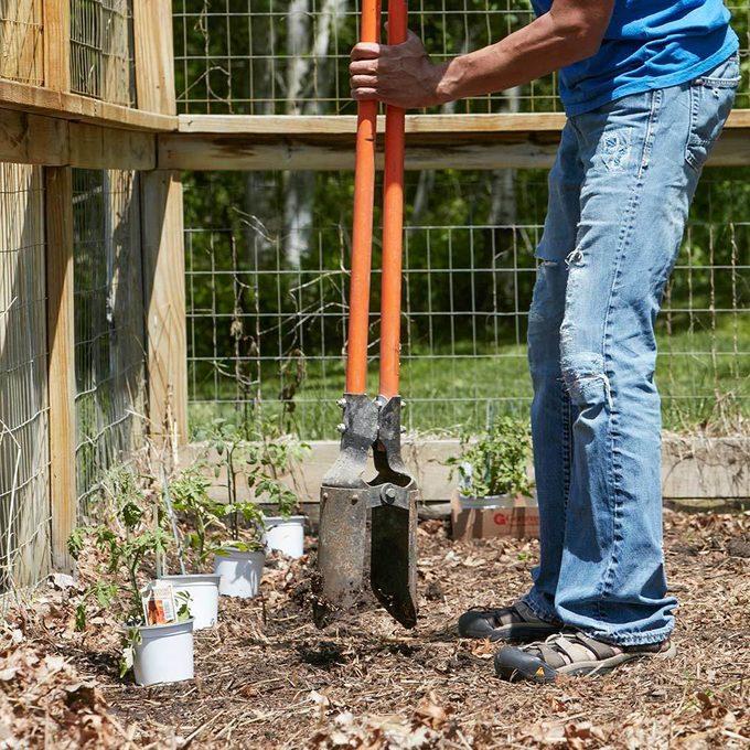 Easier vegetable planting