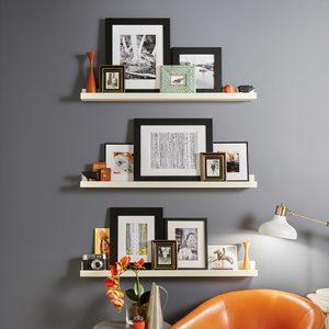 Custom Picture Shelves
