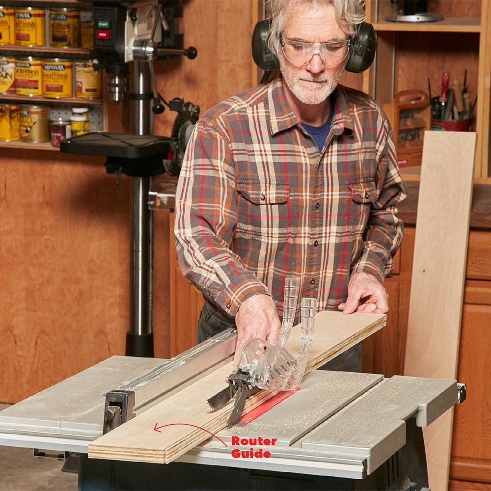 cutting dadoes with table saw
