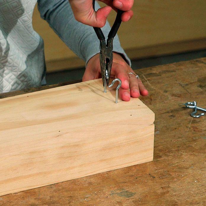 add hooks, use a pliers to help