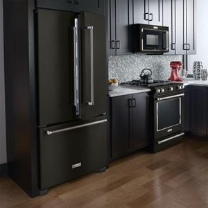 Home Trend: Black Stainless Steel Appliances