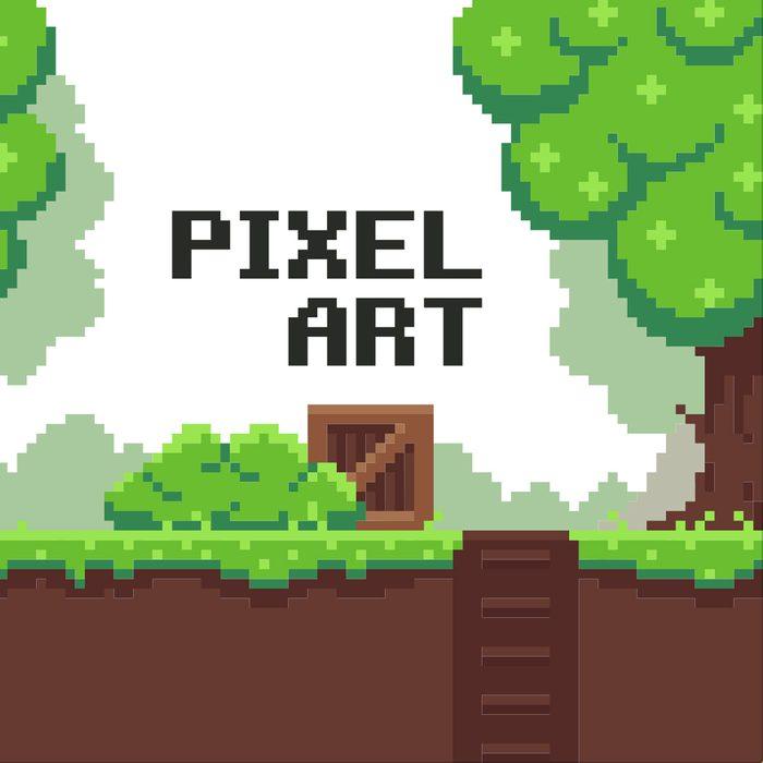 Pixel Art Decorations