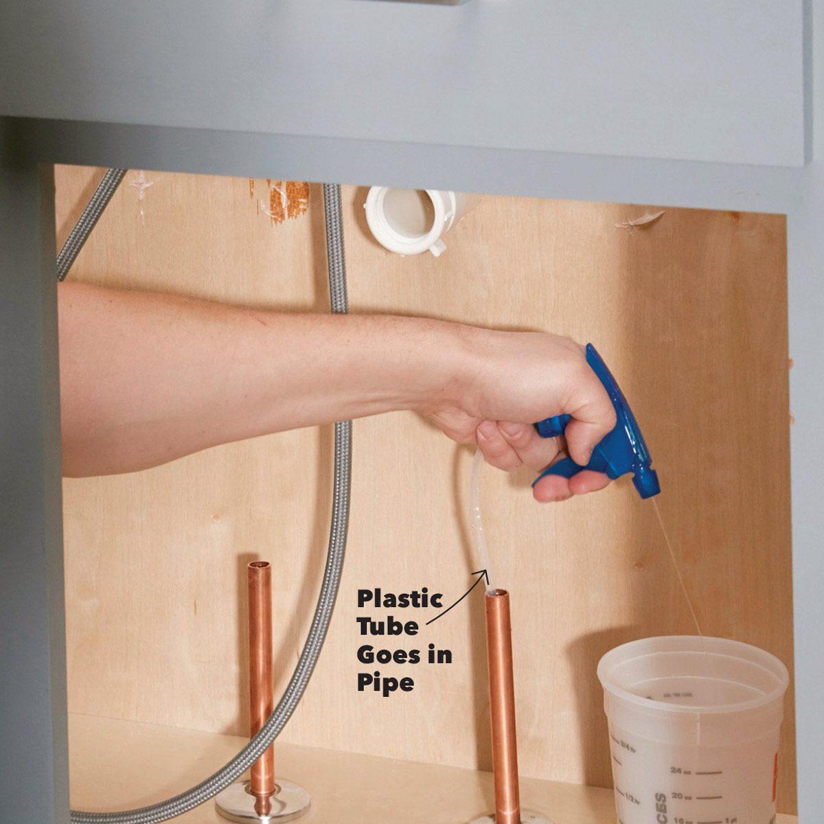 Spray Bottle Pipe Pump