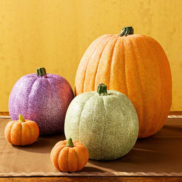 Creative Pumpkin Ideas: Puttin' on the Glitz