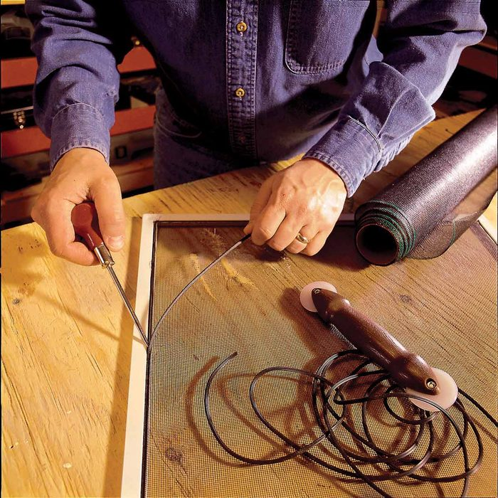 Repair Any Torn Screens or Nets