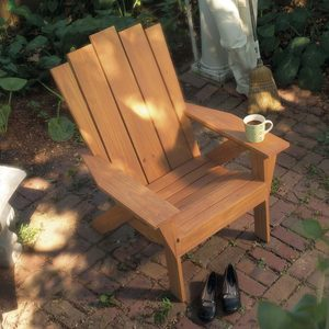 how to make a chair Adirondack style