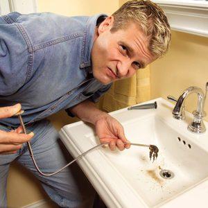 unclog claw drain