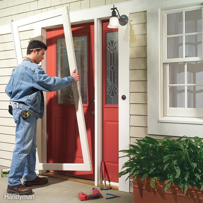 Remodeling Ideas: Steel Door Replacement for Entryway