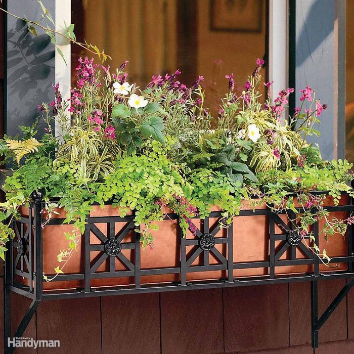 Install Flower Boxes