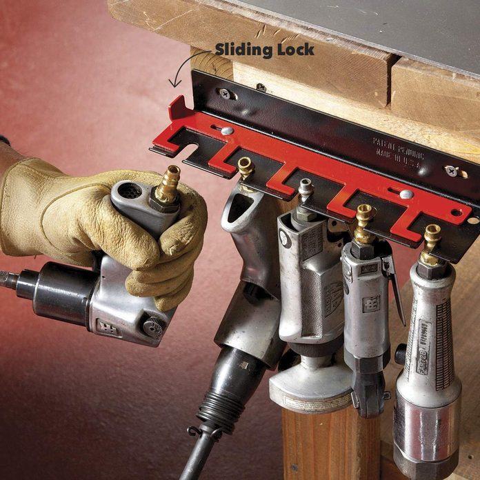 Air tools hanger