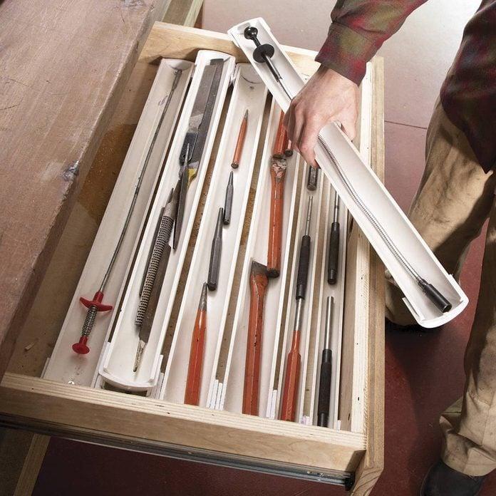 PVC drawer organizers