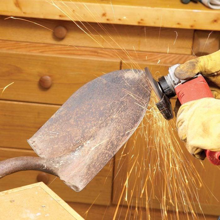 Sharpen Snow Shovels