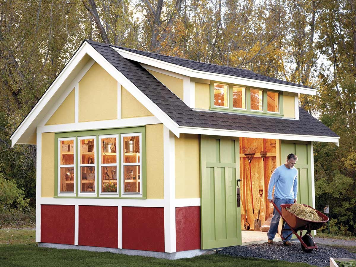 garden shed july 2011
