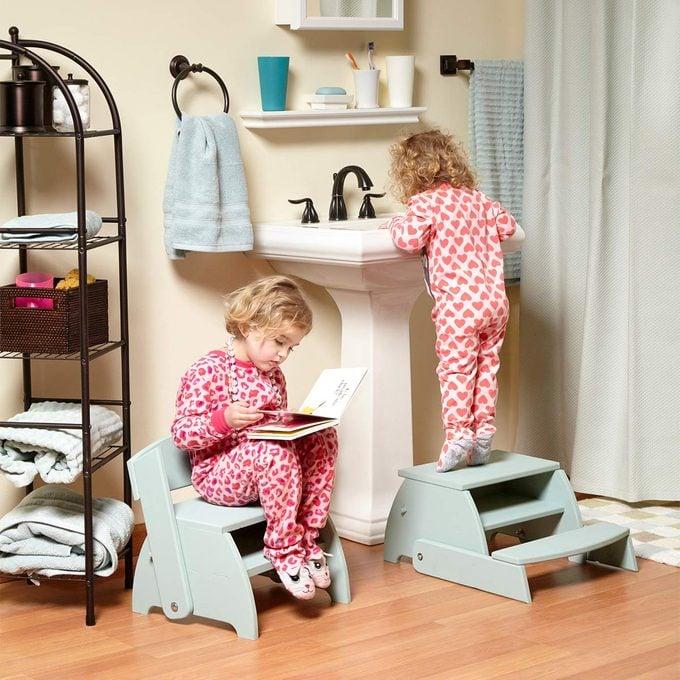flip flop step stool