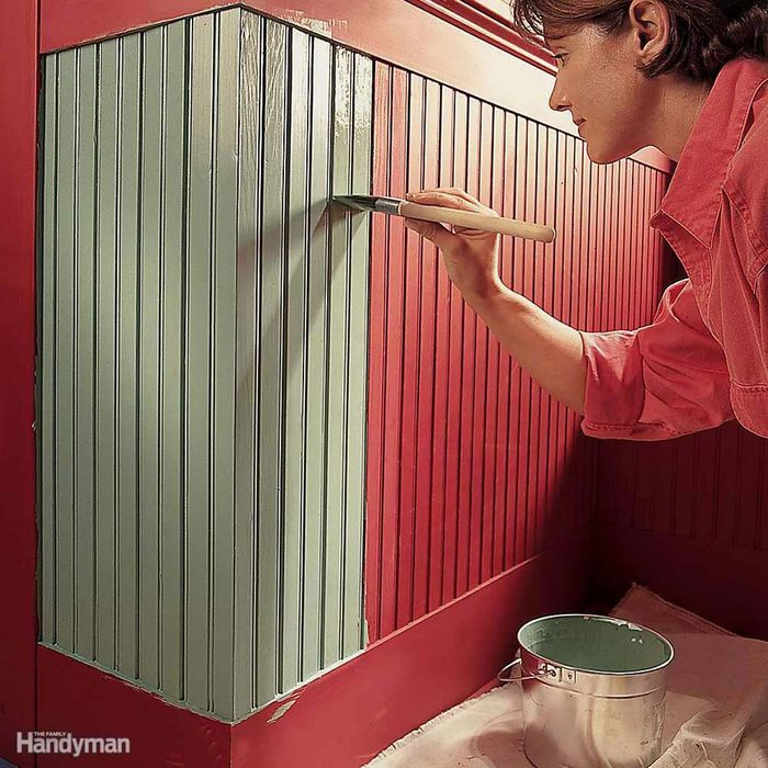 Cover Up Wear by Repainting Walls