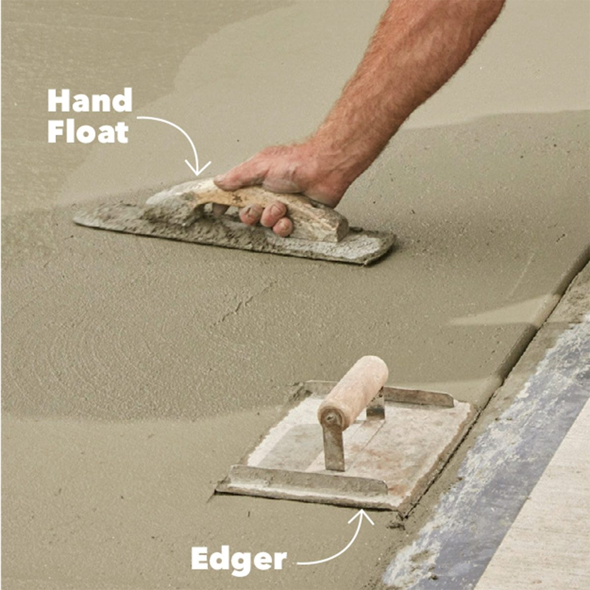 Keep hand float nearby