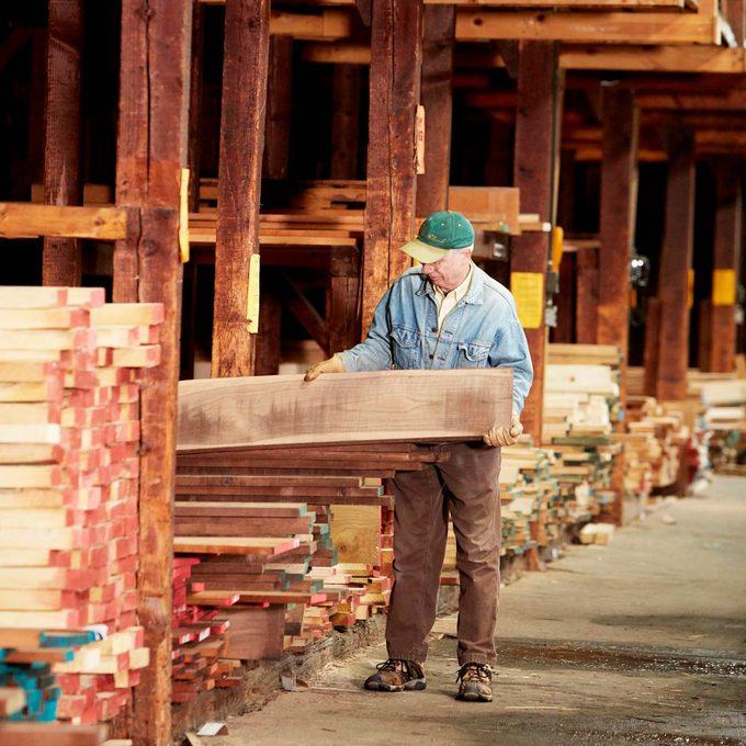 Rough-Sawn Lumber Basics