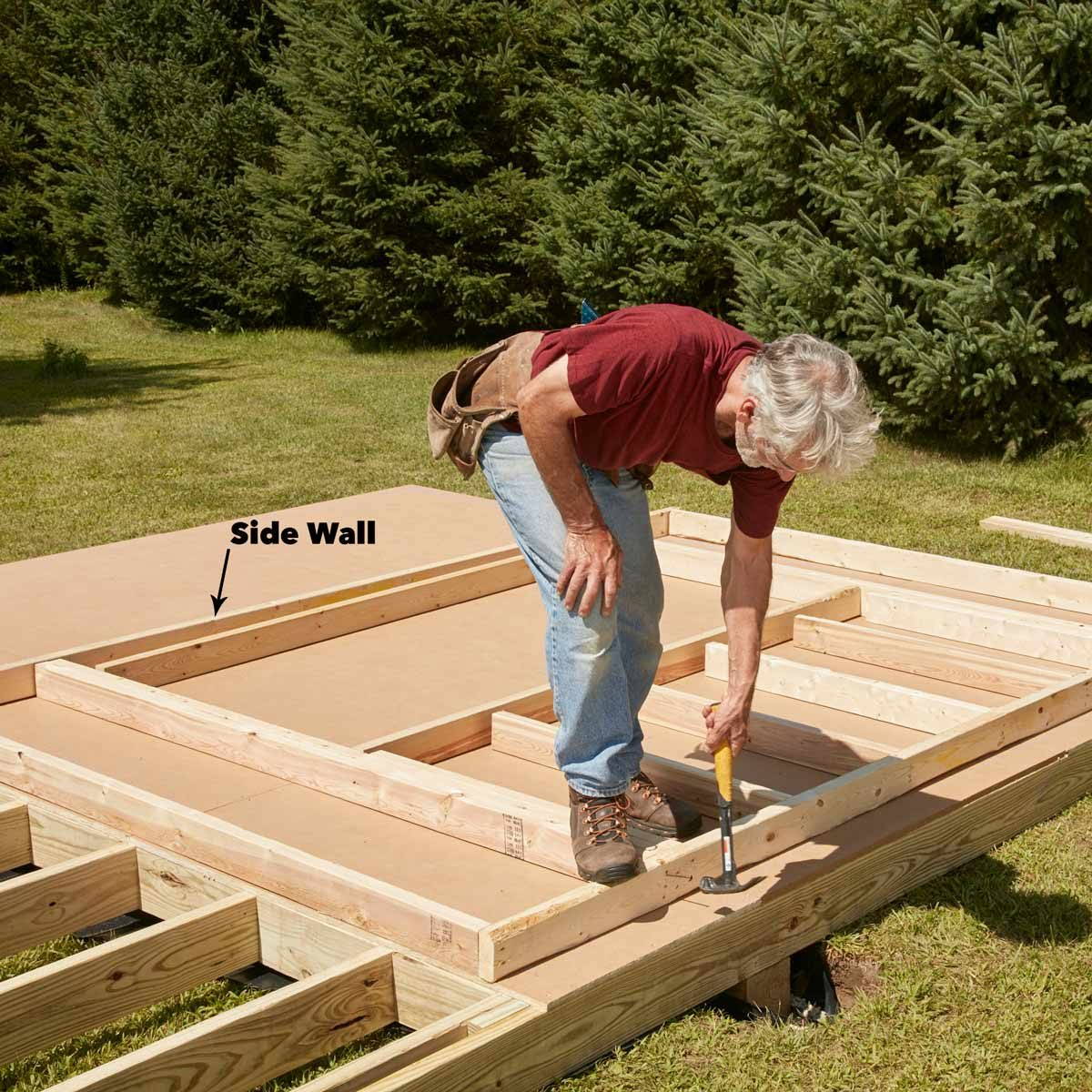 FH17JAU_580_50_013 pub shed build the walls