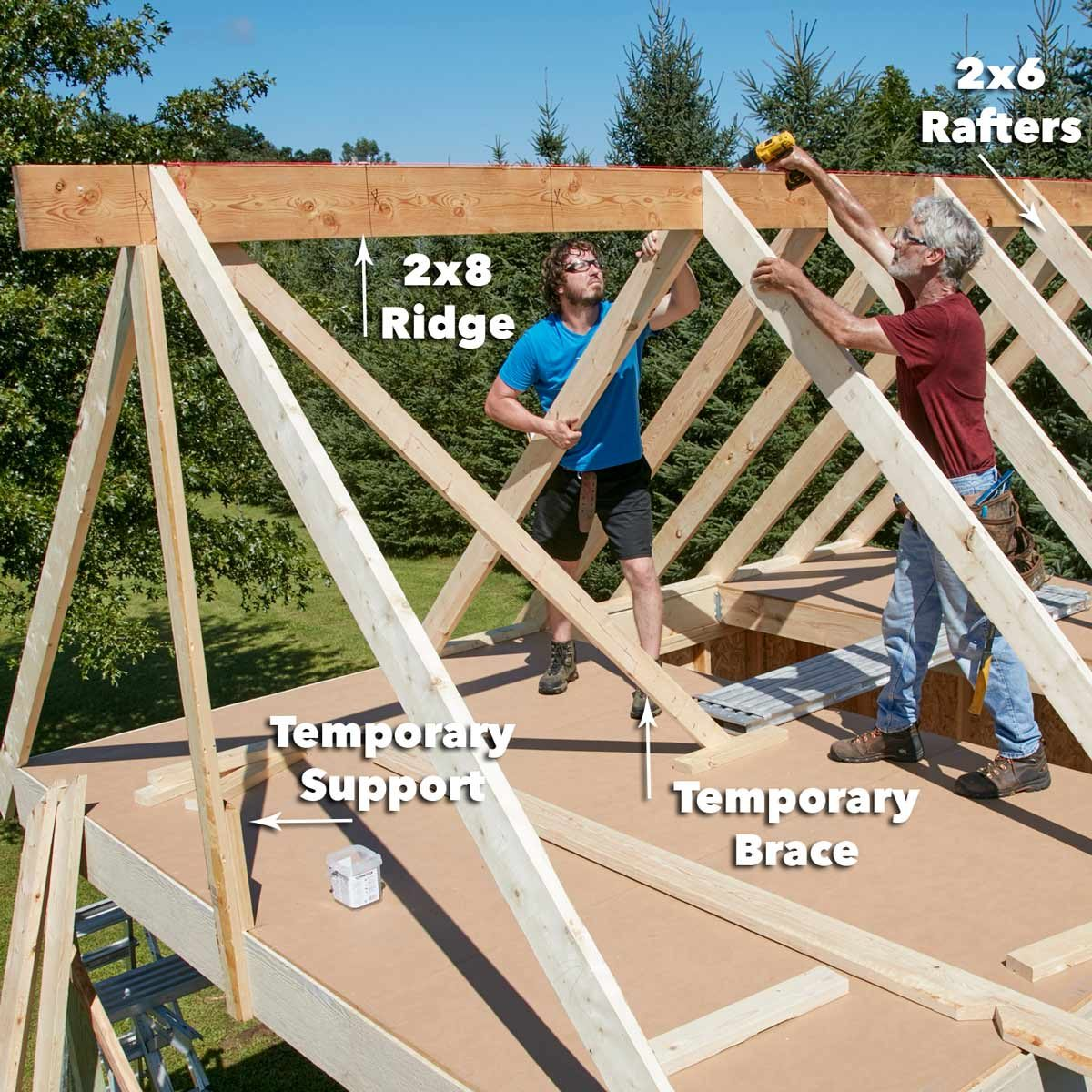 FH17JAU_580_50_067 pub shed frame the roof