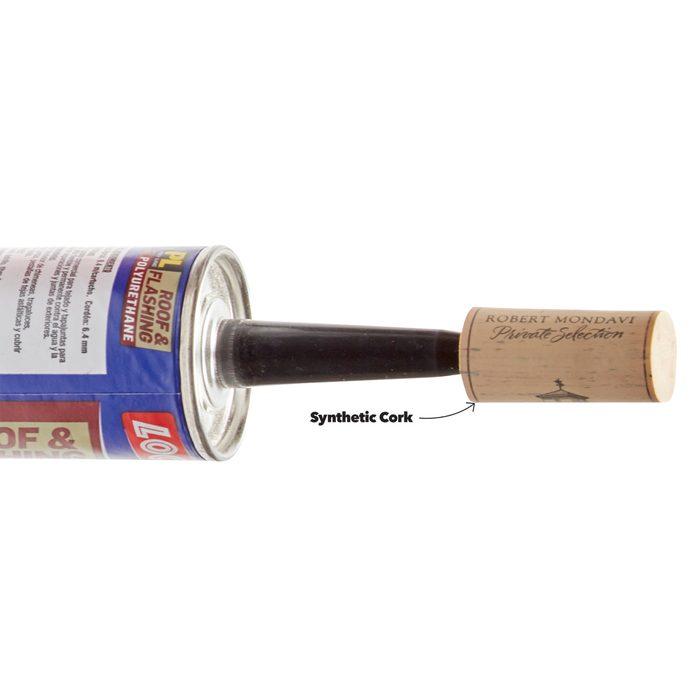 Wine Cork Caulk Saver