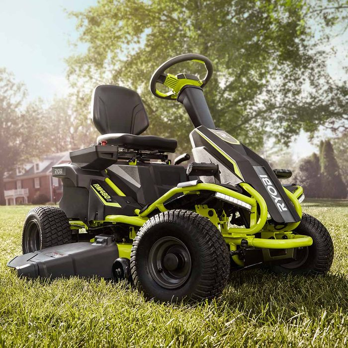 Cut grass without gas