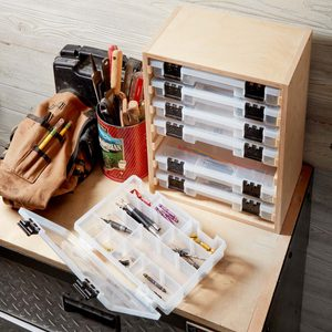 Easy-to-Build Benchtop Organizer