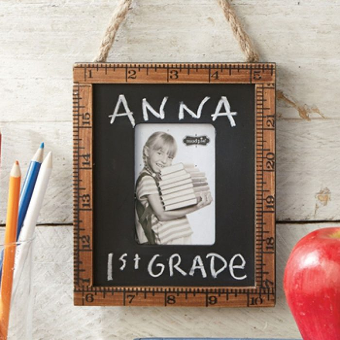 Frame up World Teacher's Day with a Ruler Picture Frame