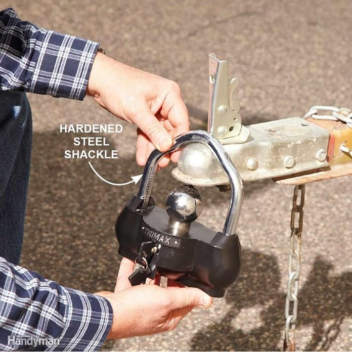 A specialty lock for trailer hitches   Construction Pro Tips