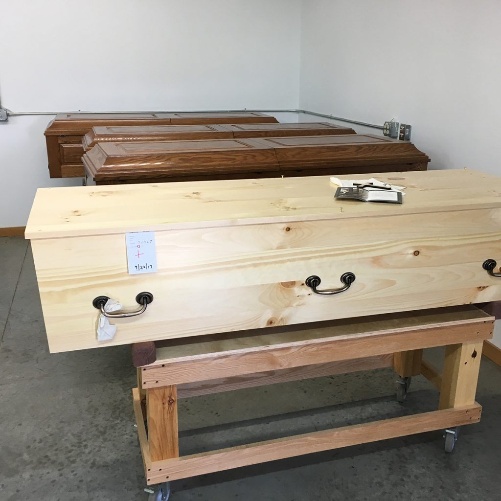 Coffins Awaiting Blessing | Construction Pro Tips