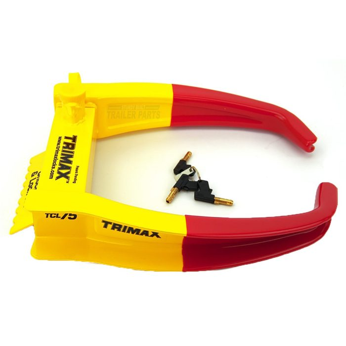 Trimax Chock Lock for wheels   Construction Pro Tips