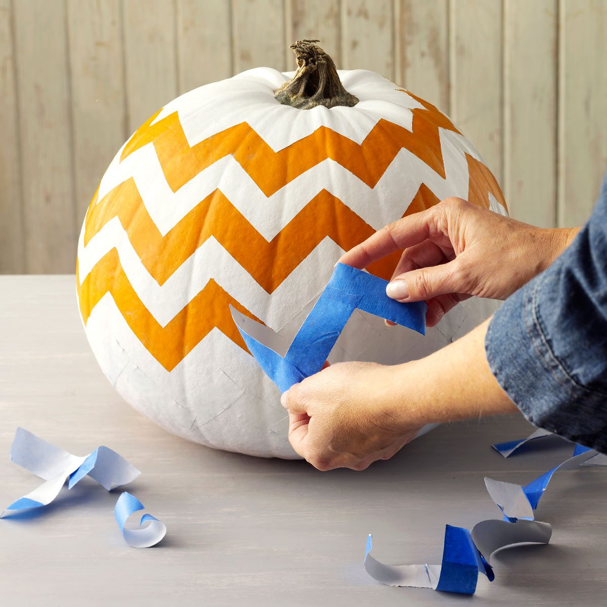 pumpkin remove painters tape