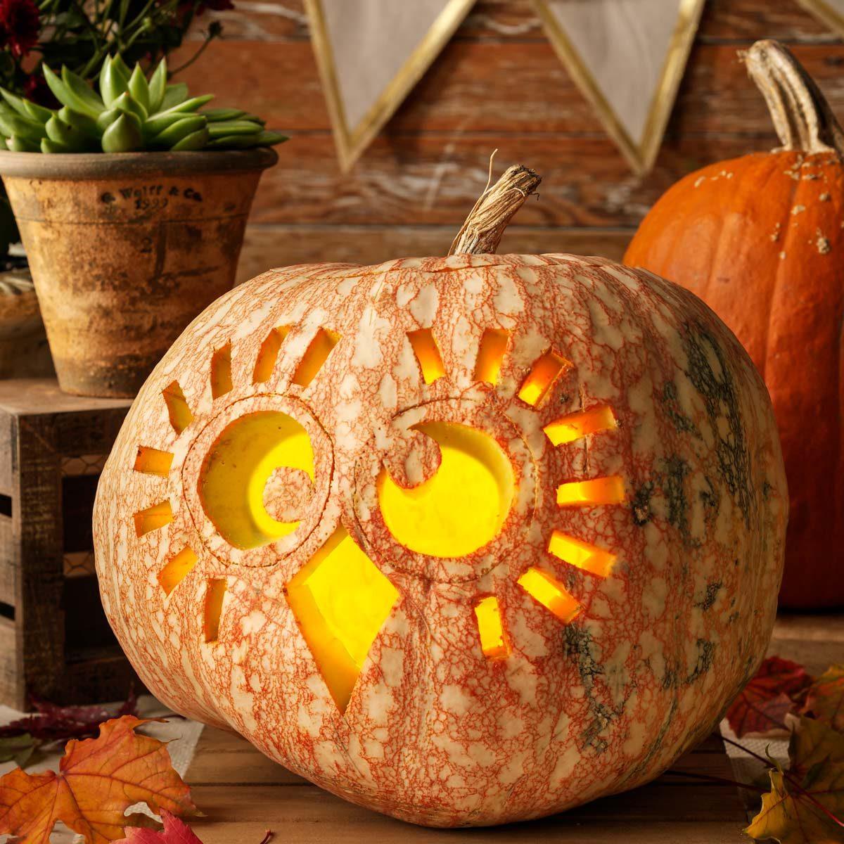 Creative Pumpkin Ideas: Orange Crush