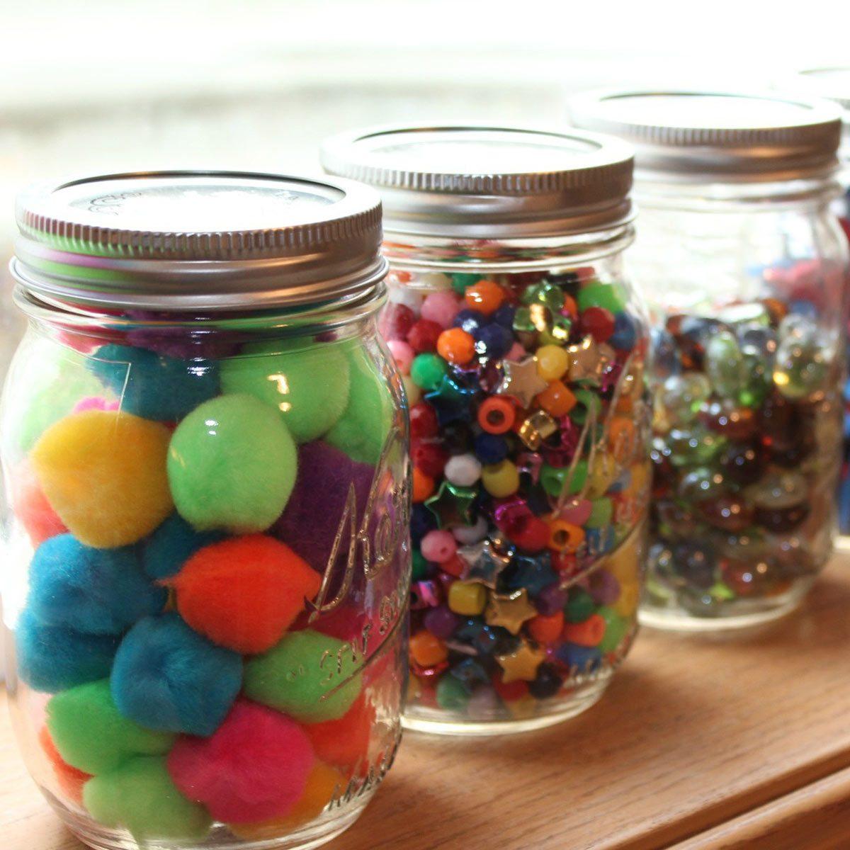 Fill Glass Jars