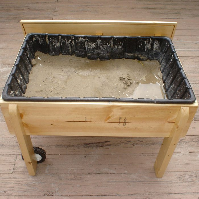 Create a Sand and Water Table