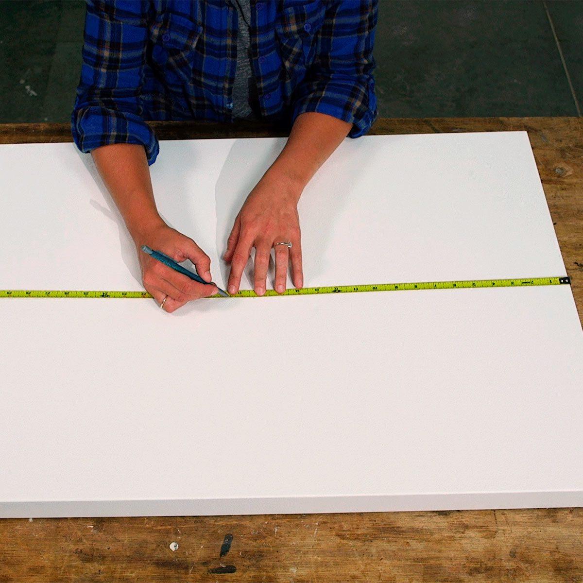wall art marking new canvas