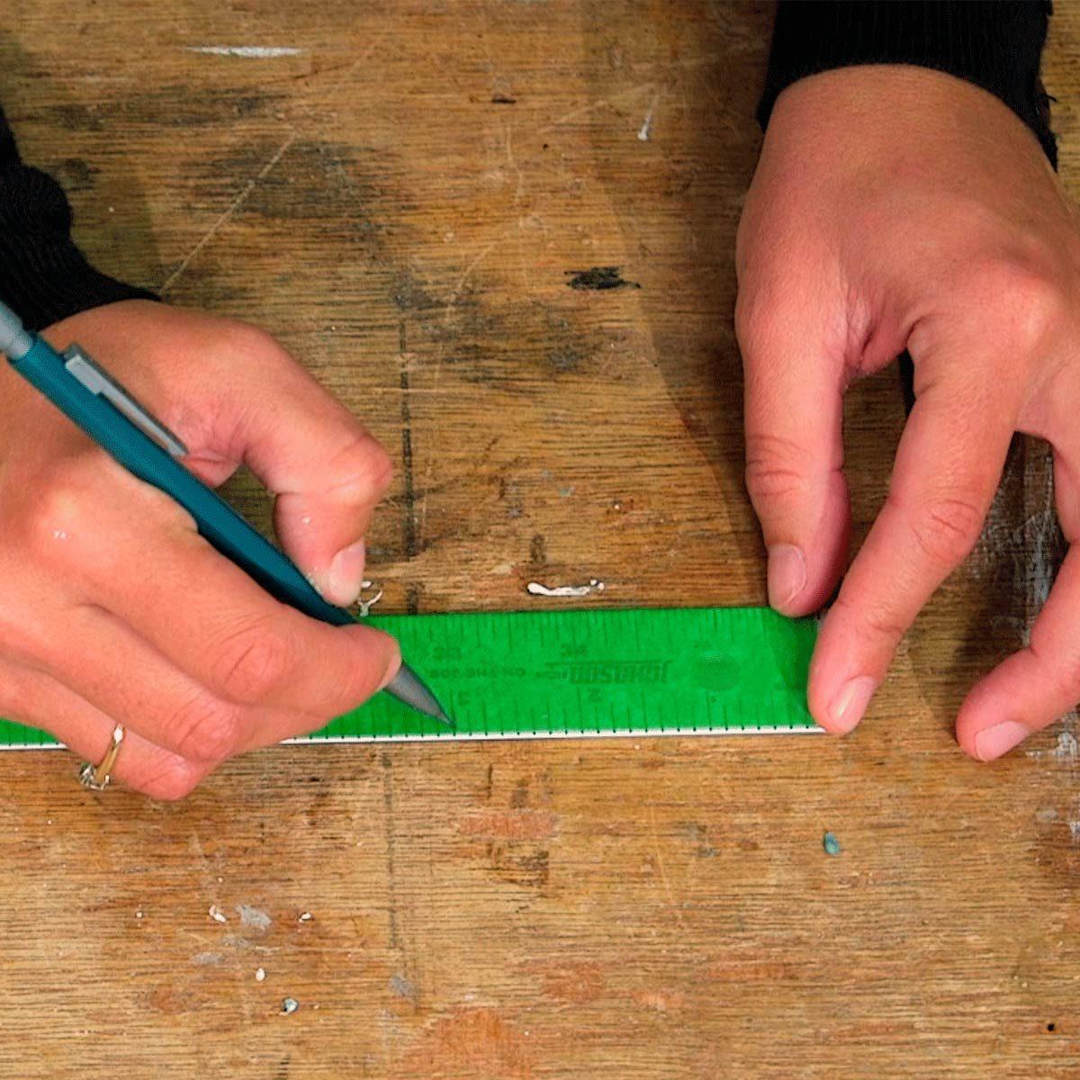 wall art tape straightedge
