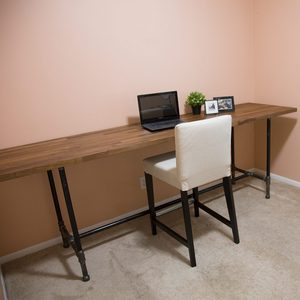 How to Build a Pipe Desk