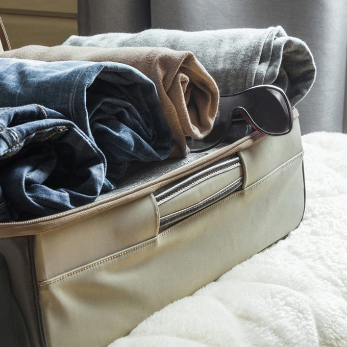 Storing in Suitcases? Roll Away