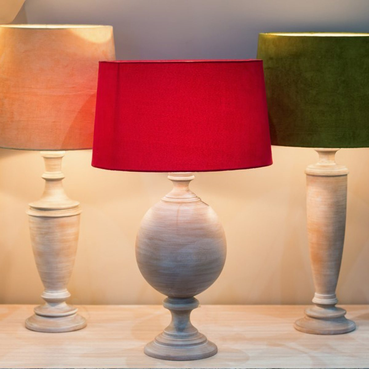 Try a New Lamp Shade