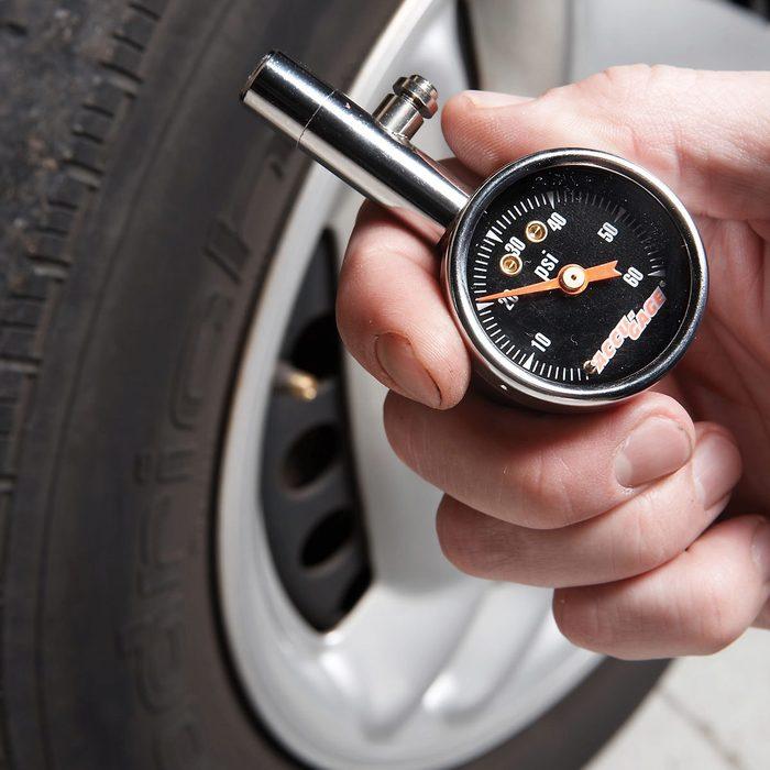 Check Tire Air Pressure