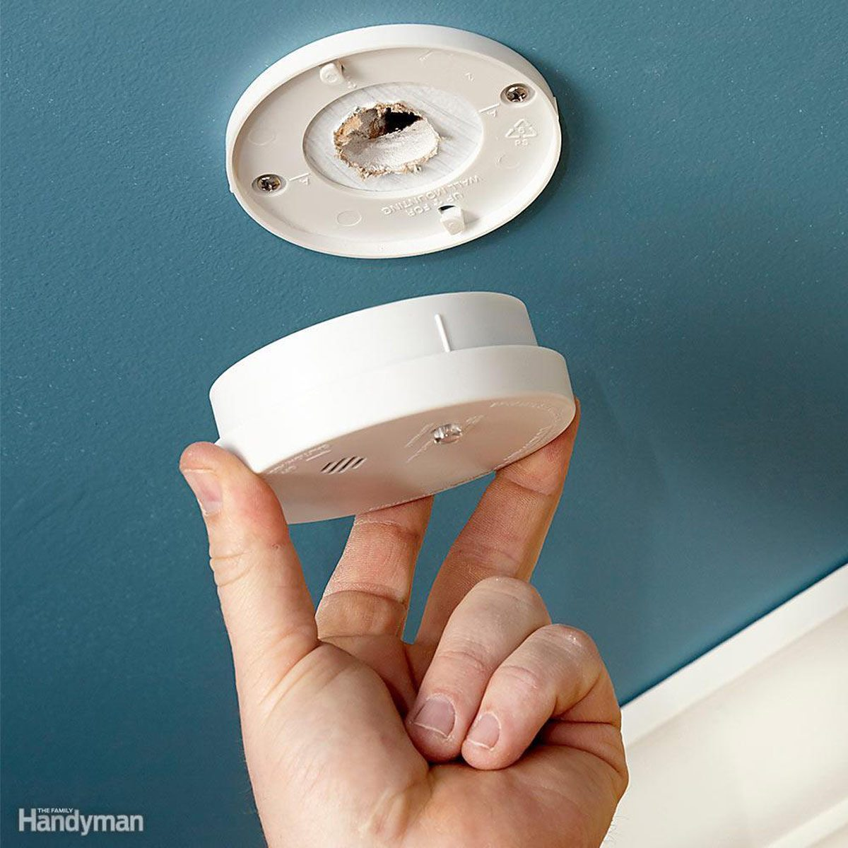 Test and Replace the Batteries in Smoke Detectors